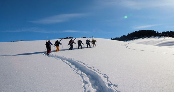 Ski tour in Isyk Kul region